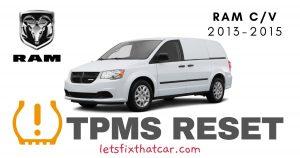 TPMS Reset-RAM C-V 2013-2015 Tire Pressure Sensor