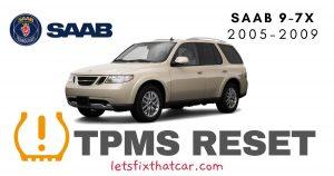 TPMS Reset-Saab 9-7X 2005-2009 Tire Pressure Sensor
