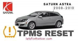 TPMS Reset-Saturn Astra 2008-2010 Tire Pressure Sensor
