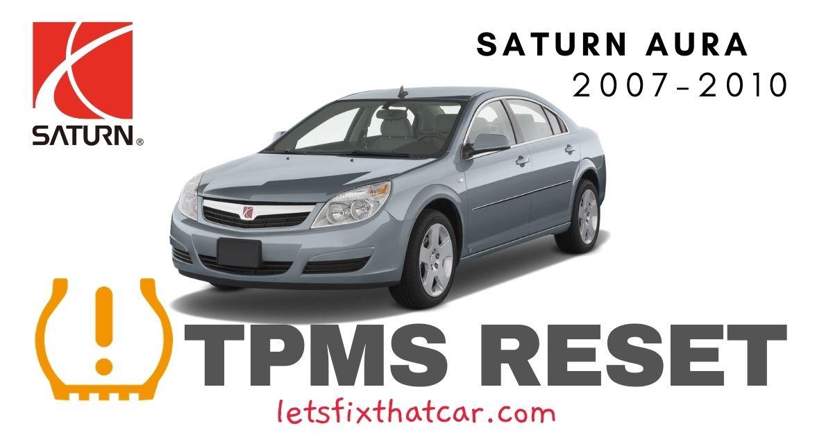 TPMS Reset-Saturn Aura 2007-2010 Tire Pressure Sensor