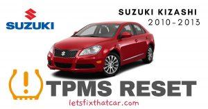TPMS Reset-Suzuki Kizashi 2010-2013 Tire Pressure Sensor