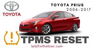 TPMS Reset-Toyota Prius 2006-2017 Tire Pressure Sensor