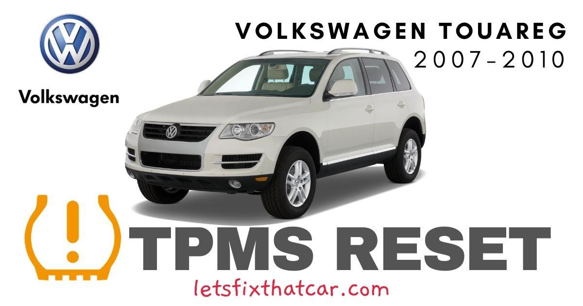 TPMS Reset-Volkswagen Touareg 2007-2010 Tire Pressure Sensor