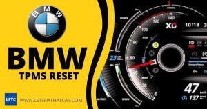 BMW TPMS Reset