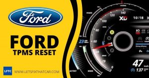 Ford TPMS Reset
