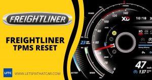 Freightliner TPMS Reset