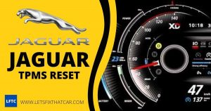 Jaguar TPMS Reset