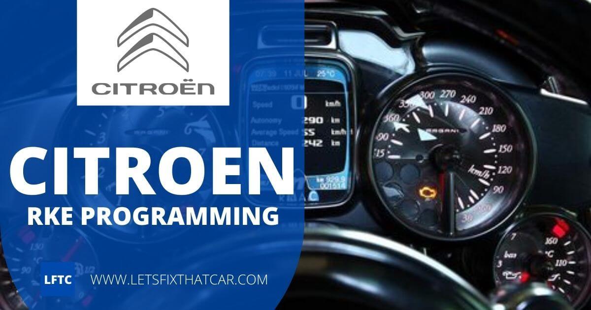 Citroen RKE Programming