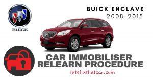 Key Programming Buick Enclave 2008-2015