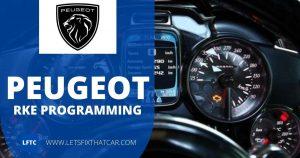 Peugeot RKE Programming