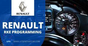 Renault RKE Programming