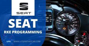 Seat RKE Programming