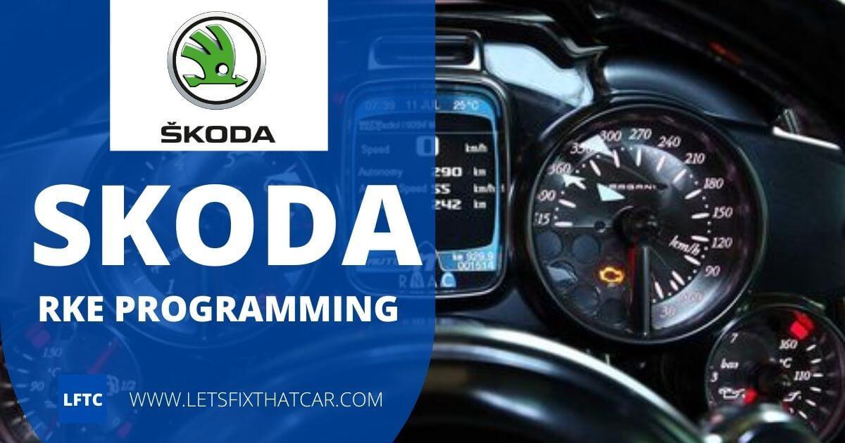 Skoda RKE Programming