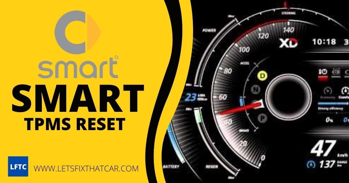 Smart TPMS Reset