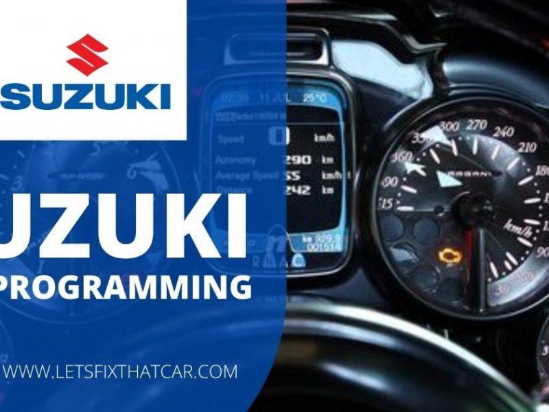 Suzuki RKE Programming