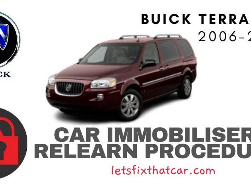 Key Programming Buick Terraza 2006-2011