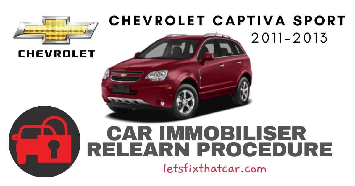 Key Programming Chevrolet Captiva Sport 2011-2013