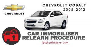 Key Programming Chevrolet Cobalt 2005-2012