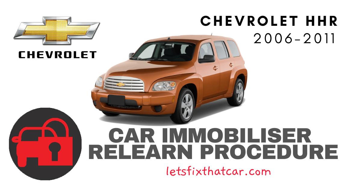 Key Programming Chevrolet HHR 2006-2011