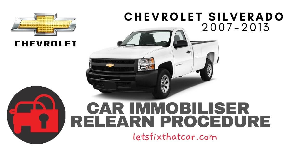 Key Programming Chevrolet Silverado 2007-2013