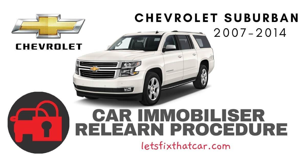 Key Programming Chevrolet Suburban 2007-2014