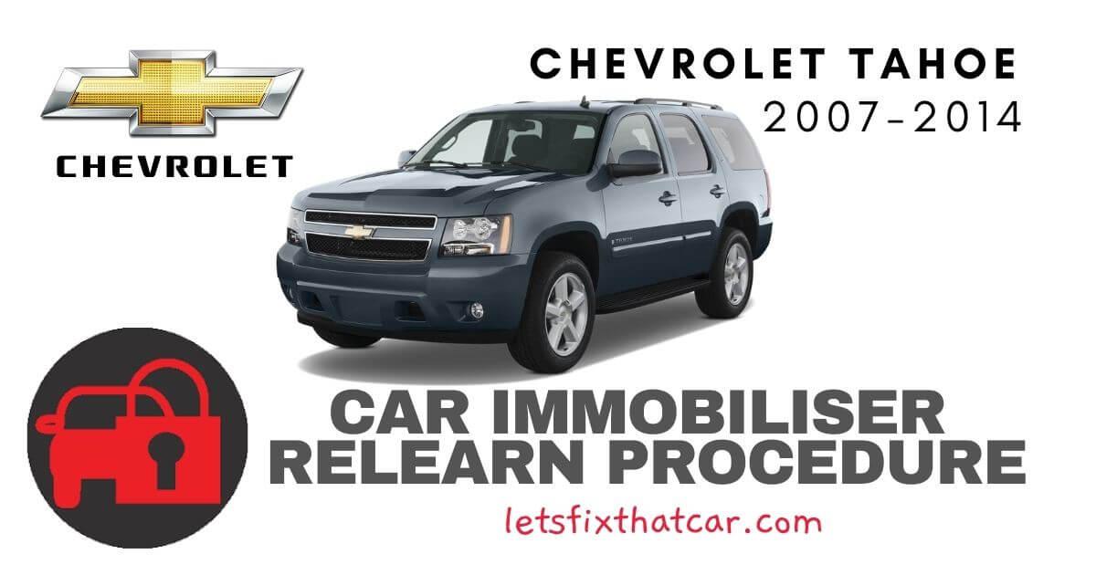 Key Programming Chevrolet Tahoe 2007-2014