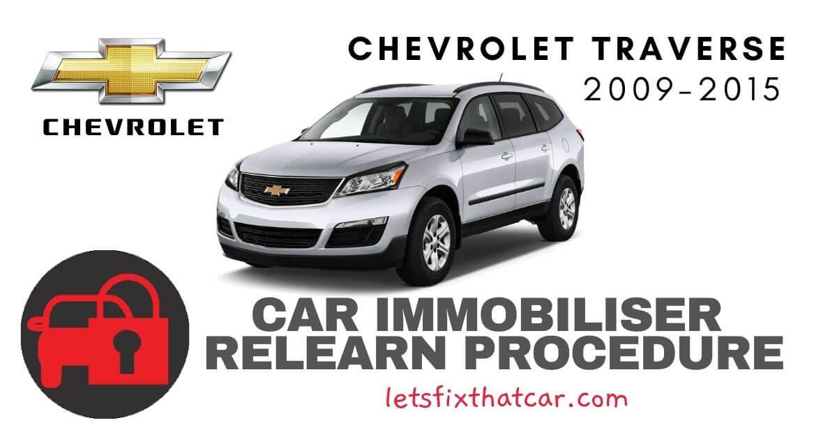 Key Programming Chevrolet Traverse 2009-2015