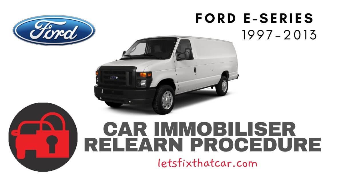 Key Programming Ford E-Series 1997-2013