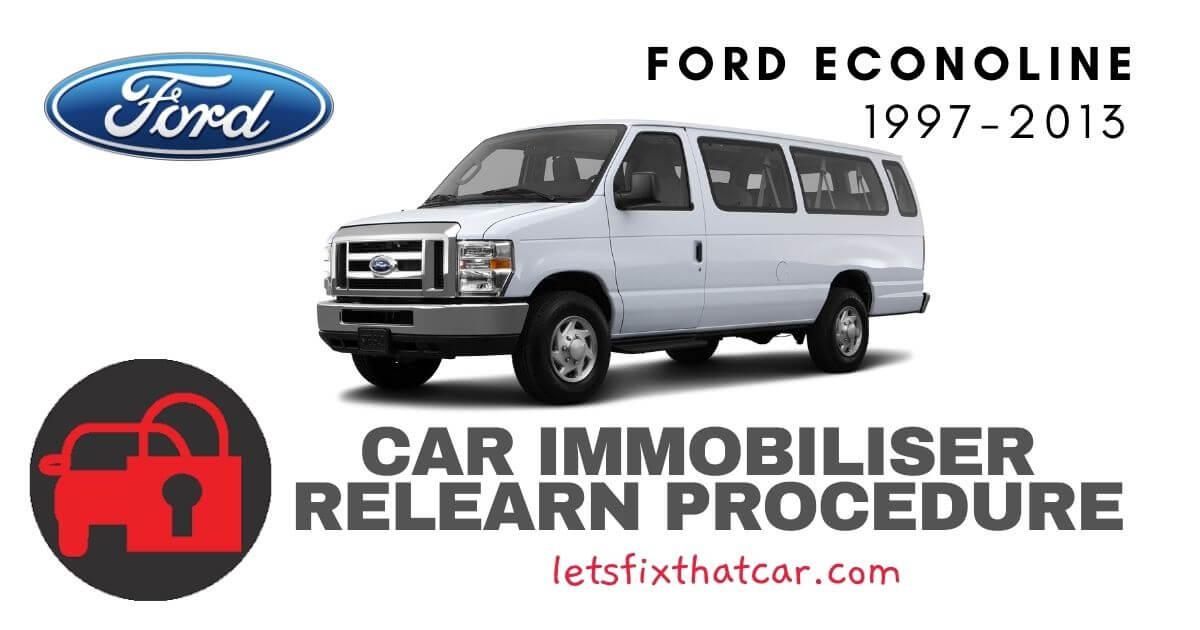 Key Programming Ford Econoline 1997-2013