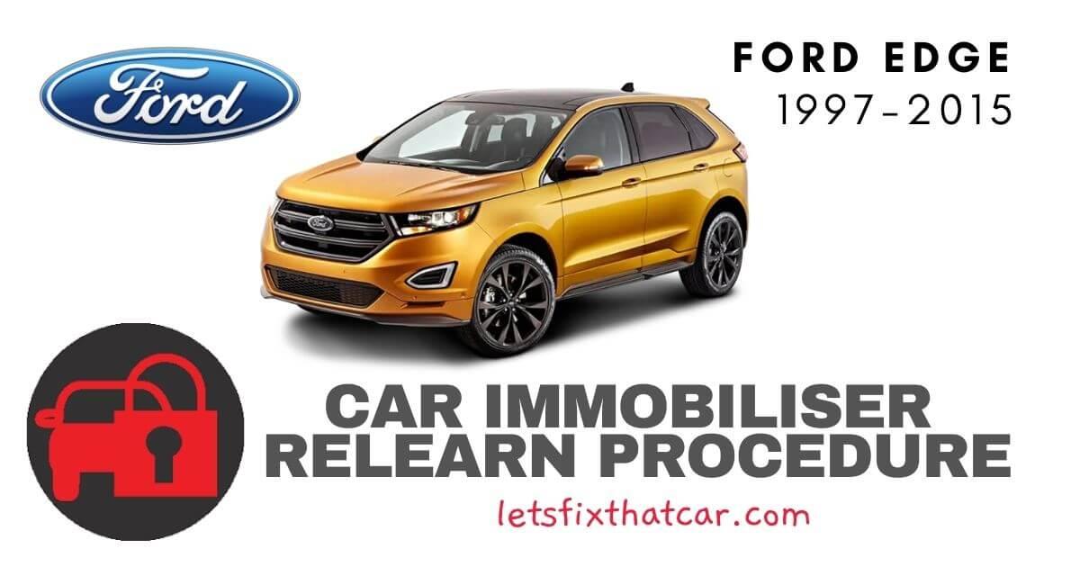 Key Programming Ford Edge 1997-2015