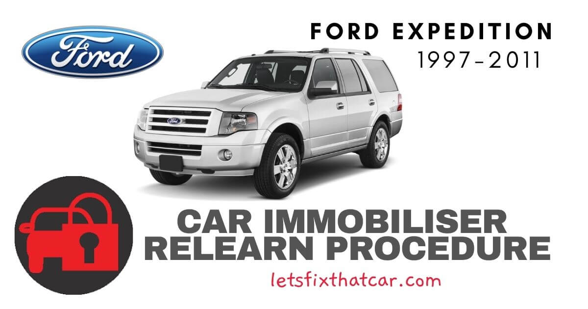 Key Programming Ford Expedition 1997-2011