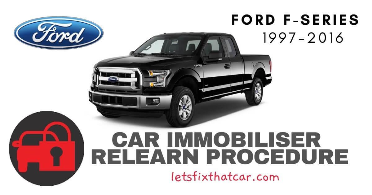 Key Programming Ford F-Series 1997-2016
