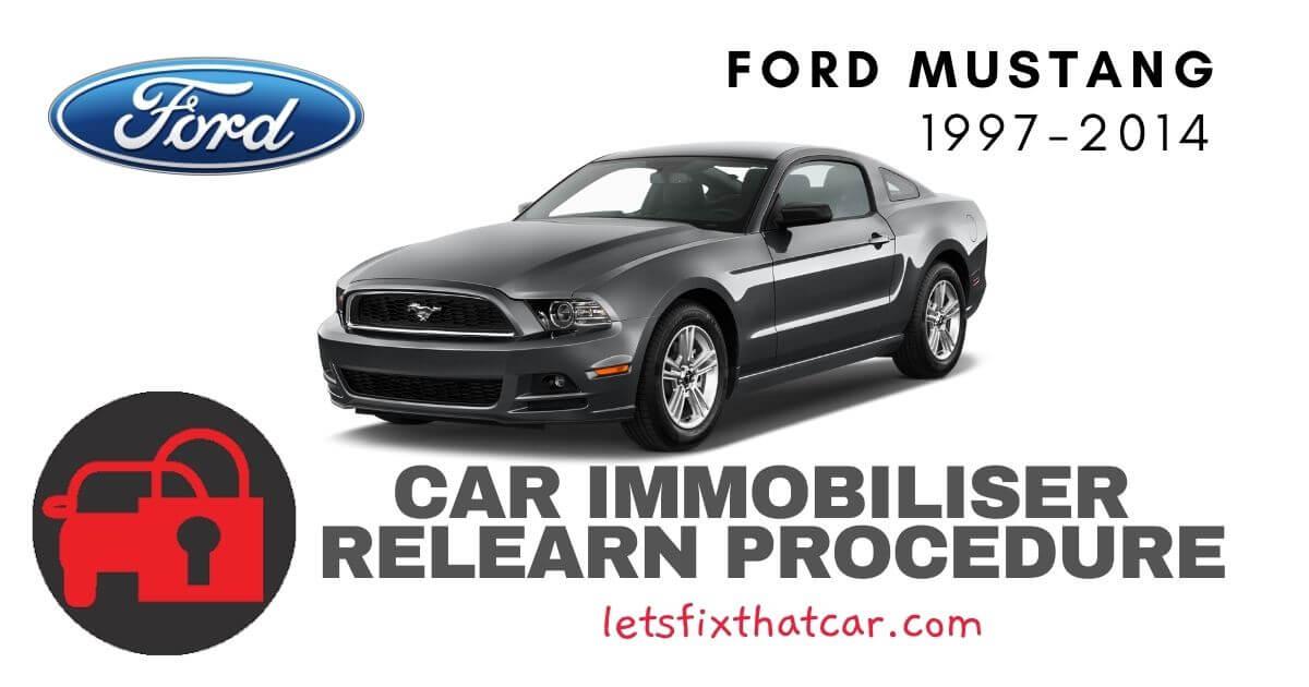 Key Programming Ford Mustang 1997-2014