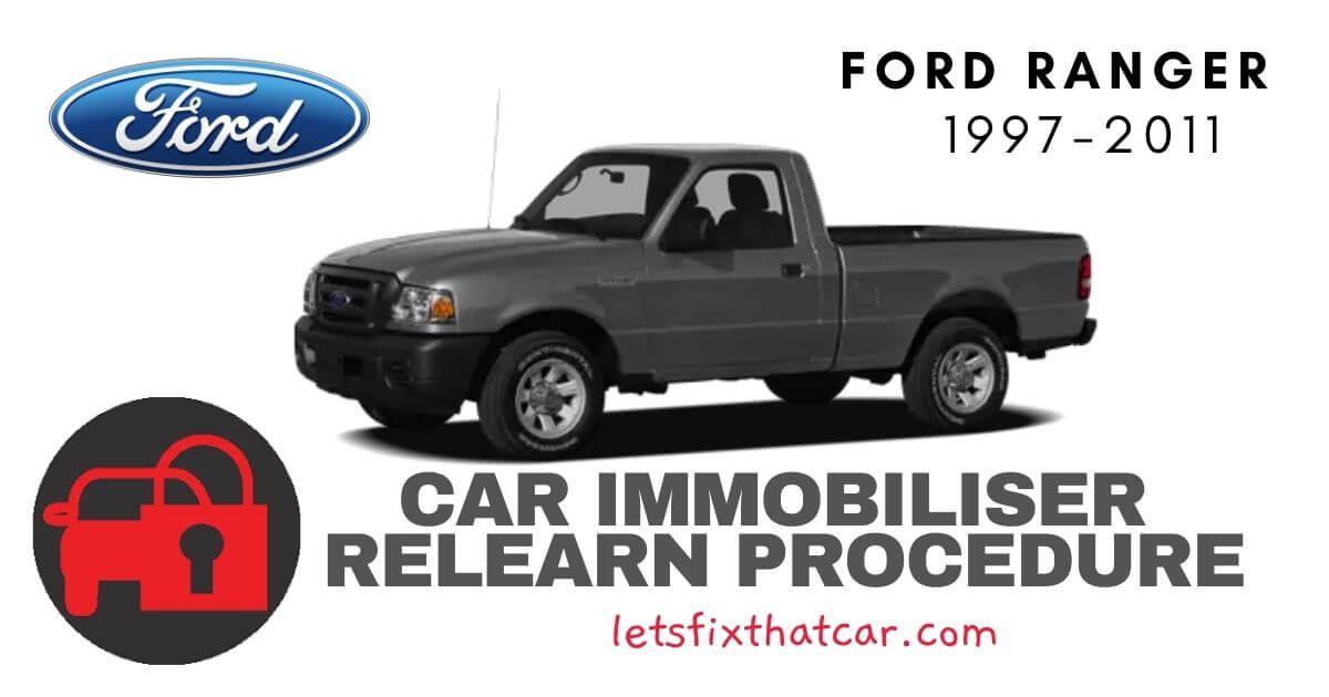 Key Programming Ford Ranger 1997-2011