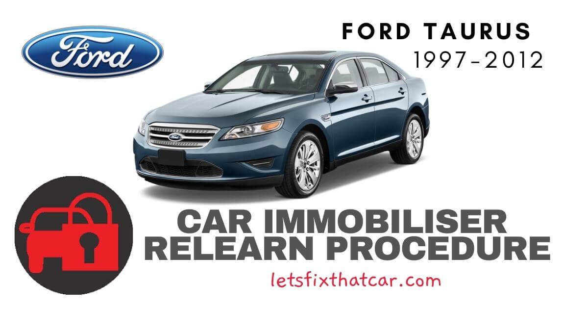 Key Programming Ford Taurus 1997-2012