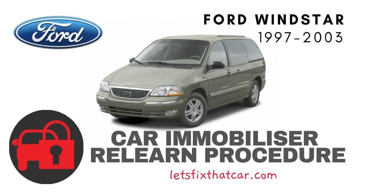 Key Programming Ford Windstar 1997-2003
