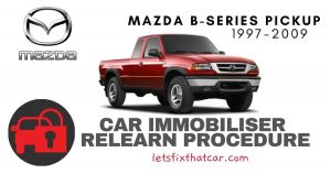 Key Programming Mazda B-Series Pickup 1997-2009