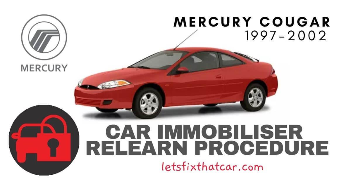Key Programming Mercury Cougar 1997-2002