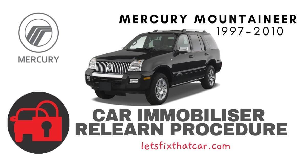 Key Programming Mercury Mountaineer 1997-2010