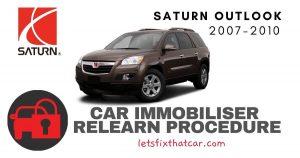 Key Programming Saturn Outlook 2007-2010