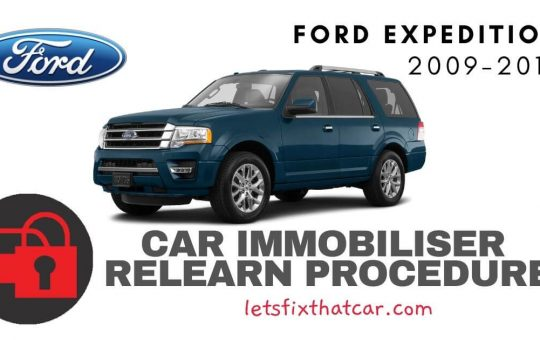 Key Programming Ford Expedition 2009-2017