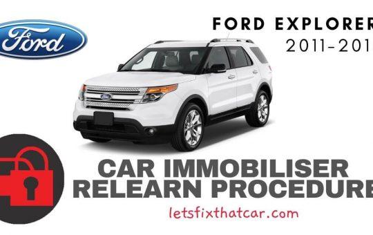 Key Programming Ford Explorer 2011-2015