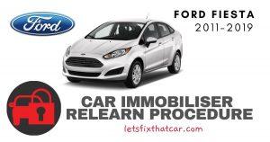 Key Programming Ford Fiesta 2011-2019