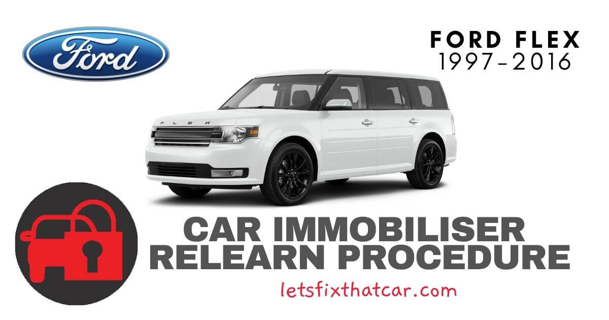 Key Programming Ford Flex 1997-2016