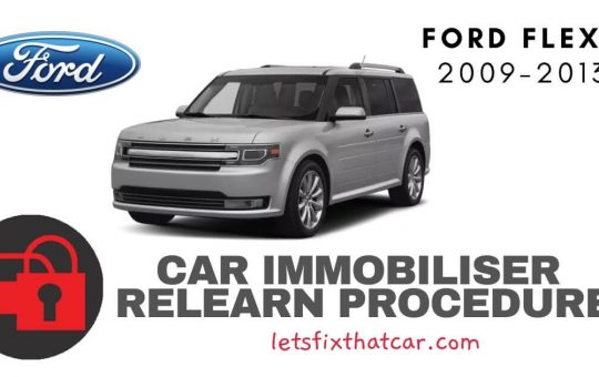 Key Programming Ford Flex 2009-2013