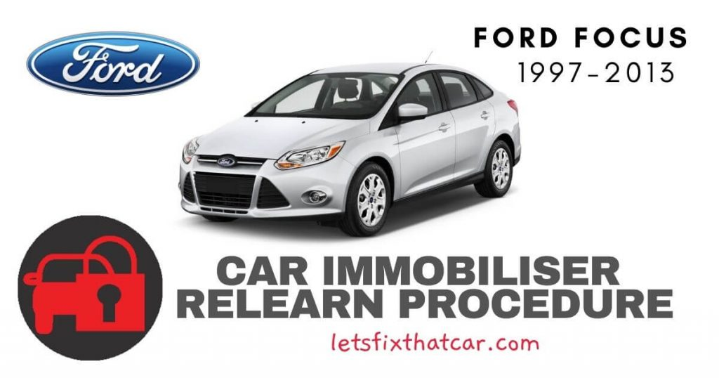 Key Programming Ford Focus 1997-2013