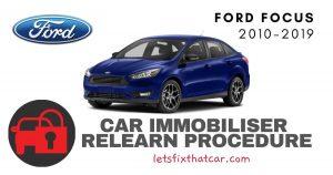 Key Programming Ford Focus 2010-2019