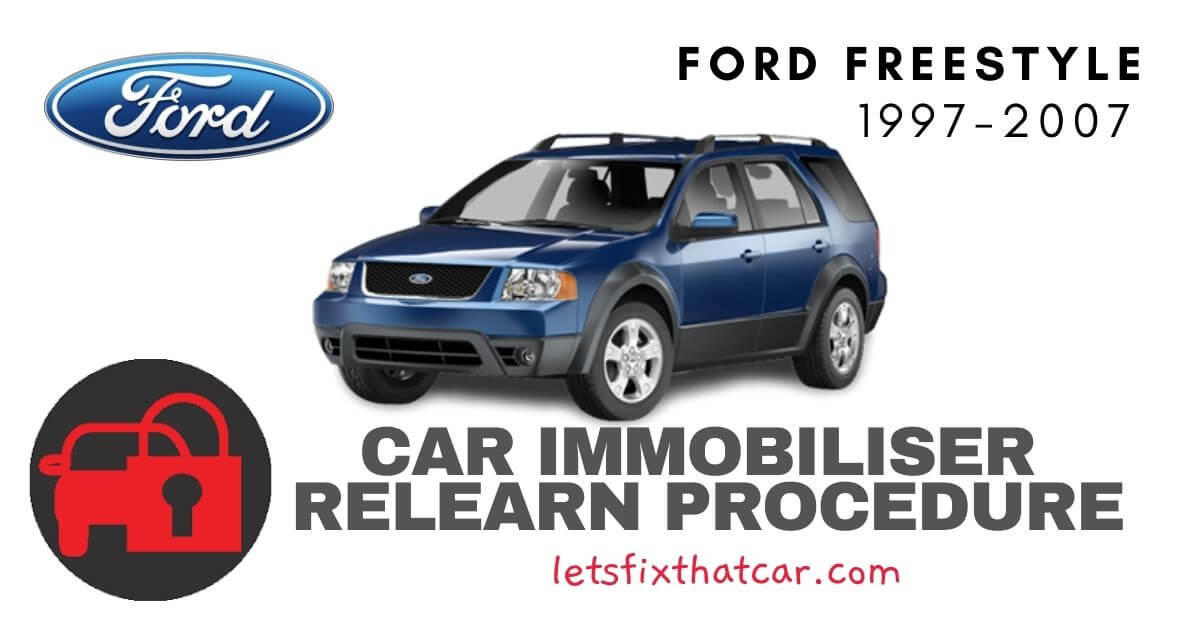Key Programming Ford Freestyle 1997-2007