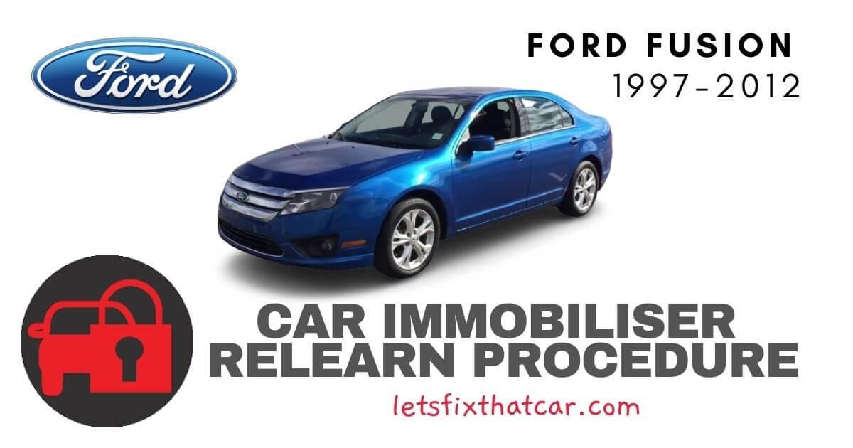 Key Programming Ford Fusion 1997-2012
