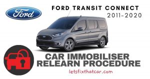 Key Programming: Ford Transit Connect 2011-2020